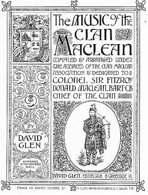 Cover from Clan MacLean Music